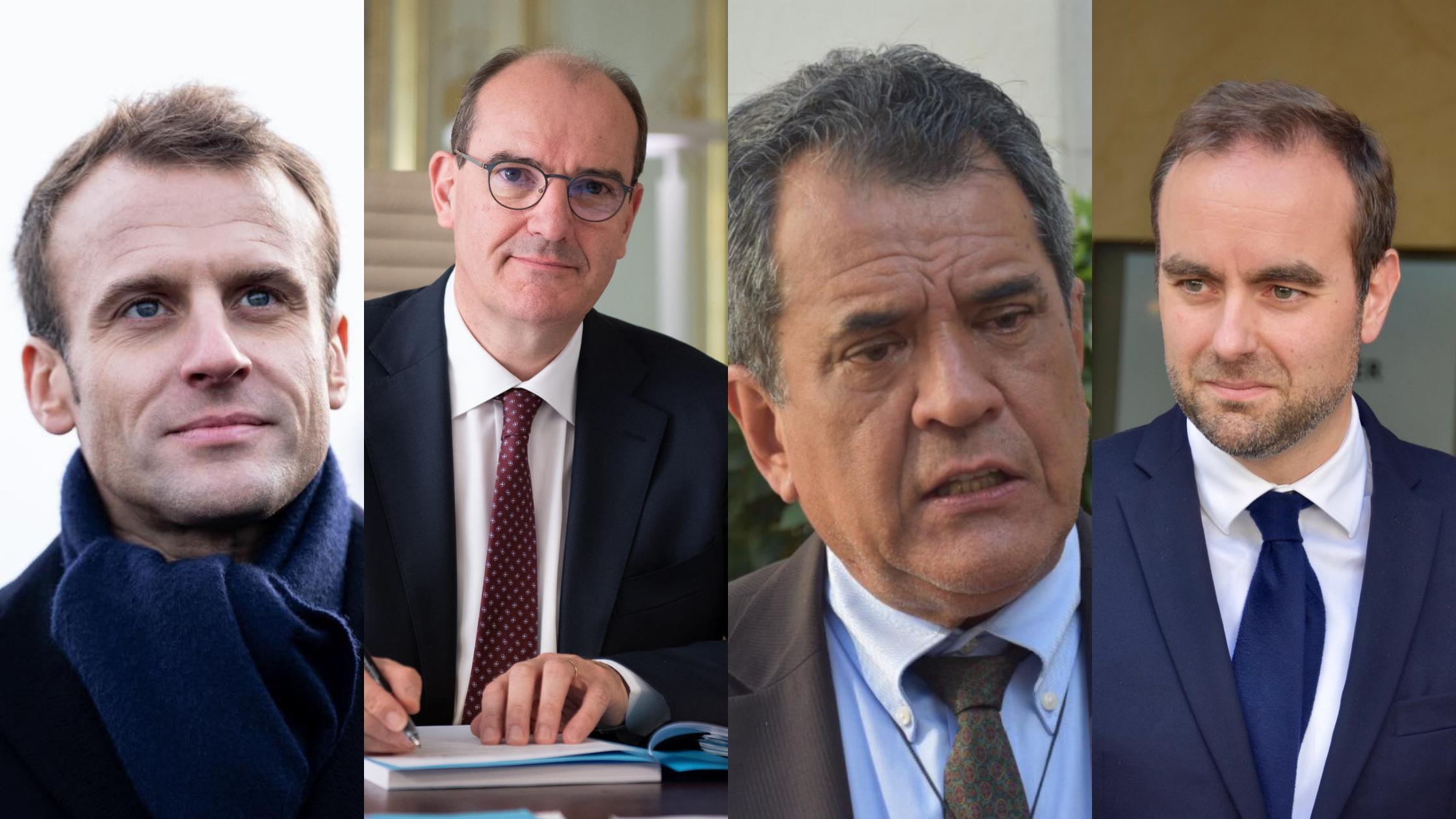 Exclu: Le Président EdouardFritch rencontre le PrésidentEmmanuel Macron et le Premier Ministre Jean Castex à Paris
