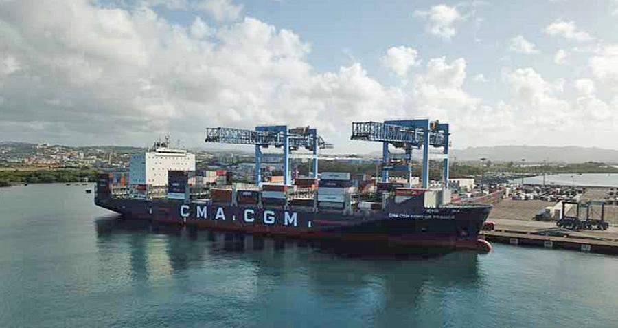 Ports d'Outre-mer: de nouveaux projets d'investissements malgré un bilan 2020 en demi-teinte