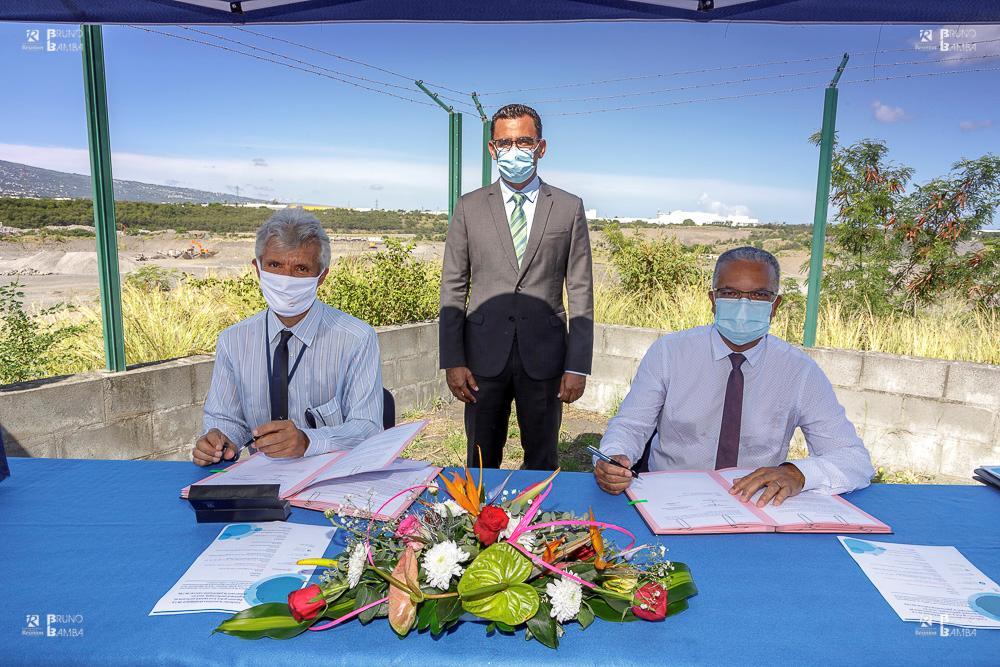 Le Département de La Réunion soutient le développement du Grand Port Maritime en mettant à disposition 15 hectares