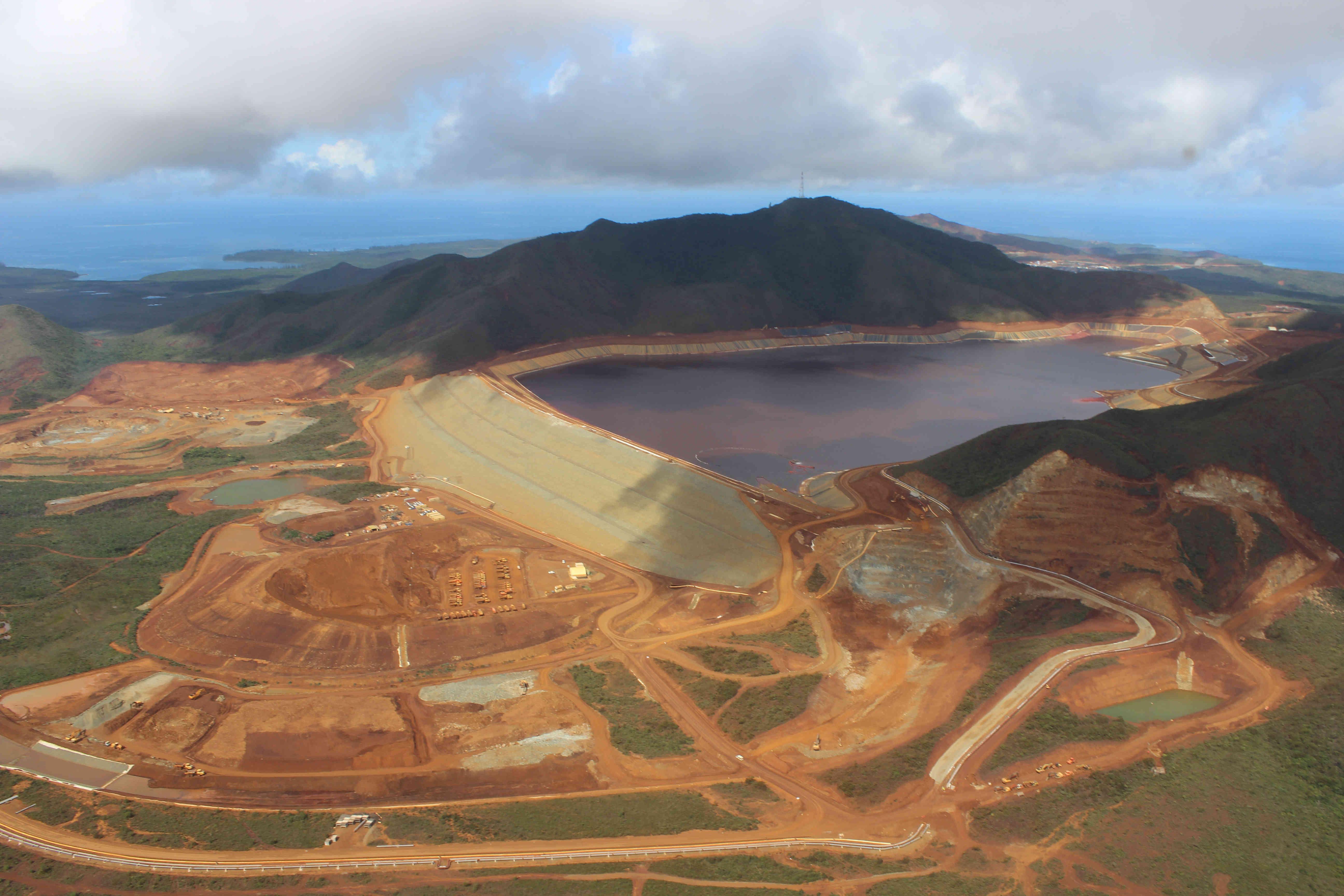 Nouvelle-Calédonie : Vale a déposé plus de 70 millions d'euros à la Caisse des Dépôts et Consignations pour les garanties environnementales de l'Usine du Sud