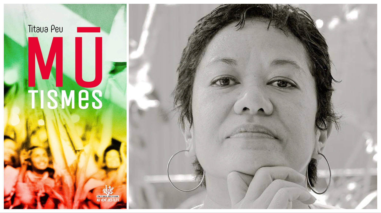 Littérature : Mūtismes, premier roman de Titaua Peu, réédité par Au Vent des Îles