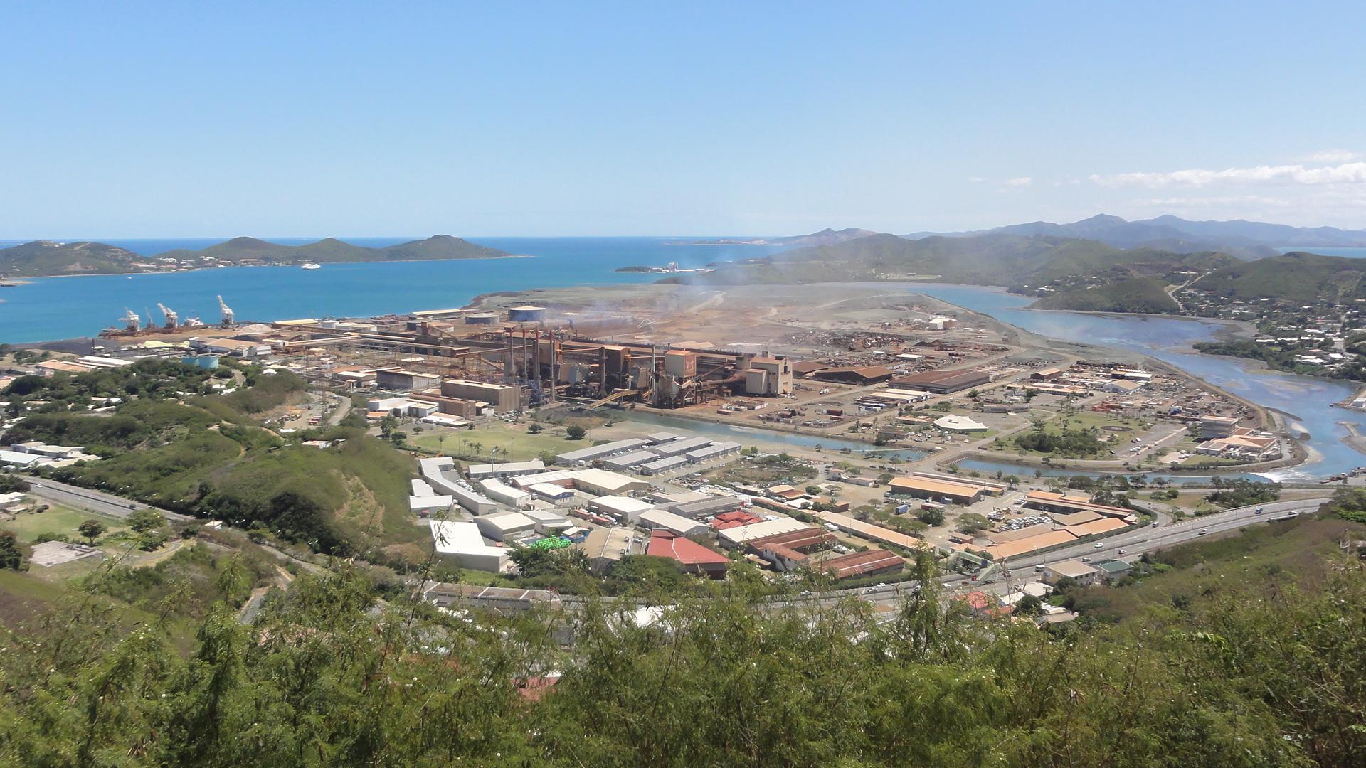 Nouvelle-Calédonie : Piquet de grève à l'usine de la SLN de Nouméa