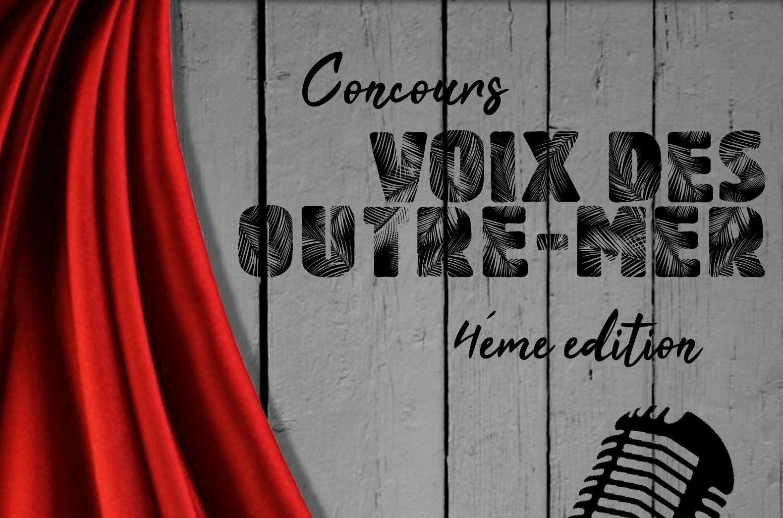 Concours Voix des Outre-mer : C'est reparti pour une 4ème saison