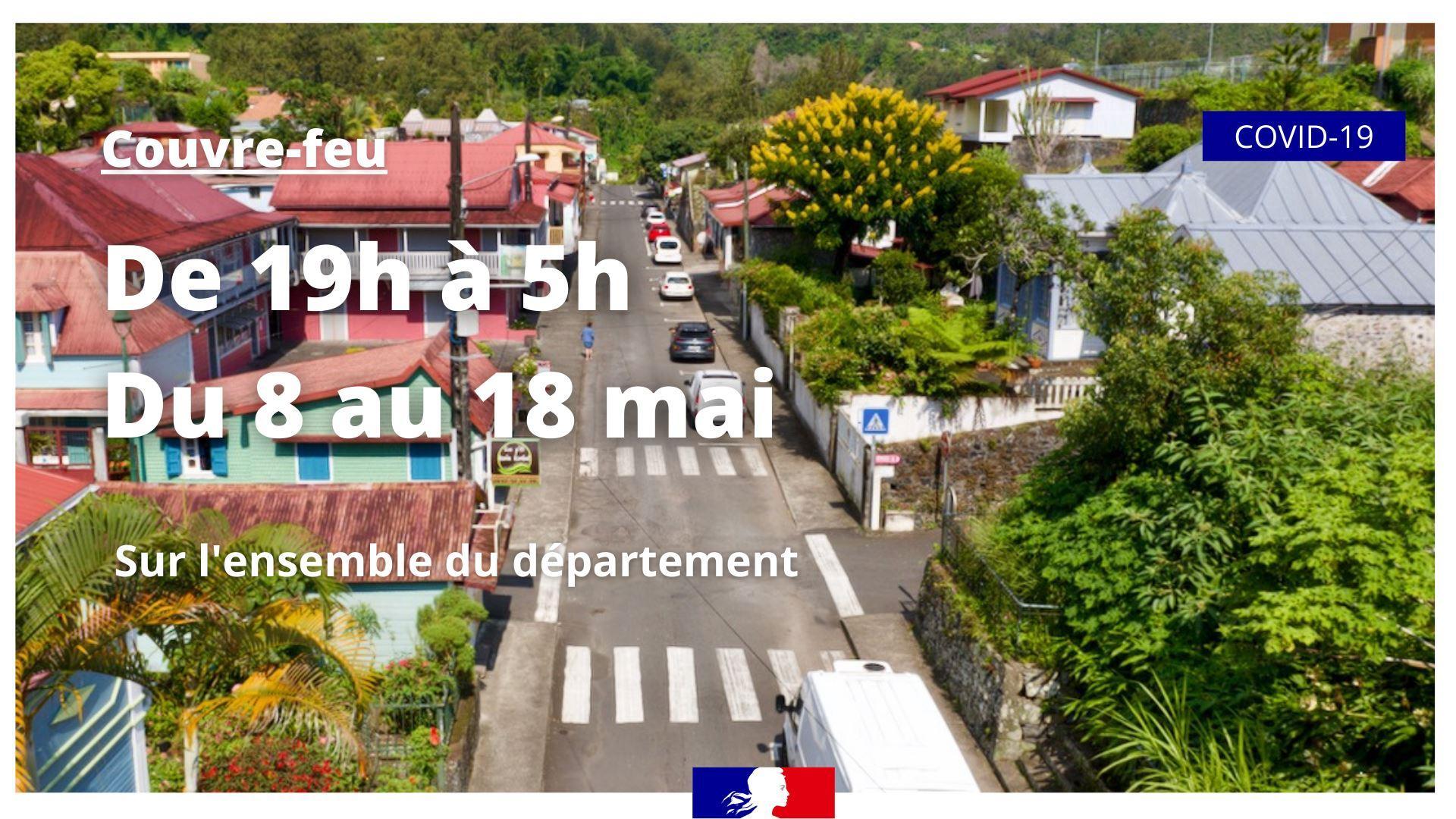 Couvre-feu, bars et restaurants, rassemblements : Le préfet de La Réunion détaille son « plan de désescalade progressif des mesures »
