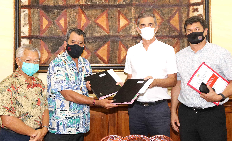 Polynésie : 5,5 milliards de Fcfp pour 16 projets financés par l'État et le Pays