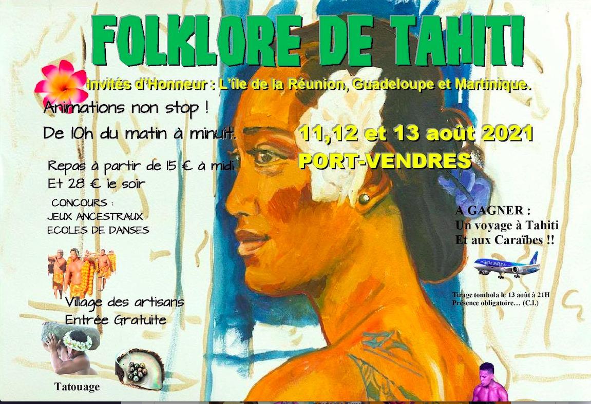 5ème édition du festival Folklore de Tahiti : Toute l'authenticité du folklore de Tahiti et des Îles du Pacifique à Port-Vendres, en Occitanie
