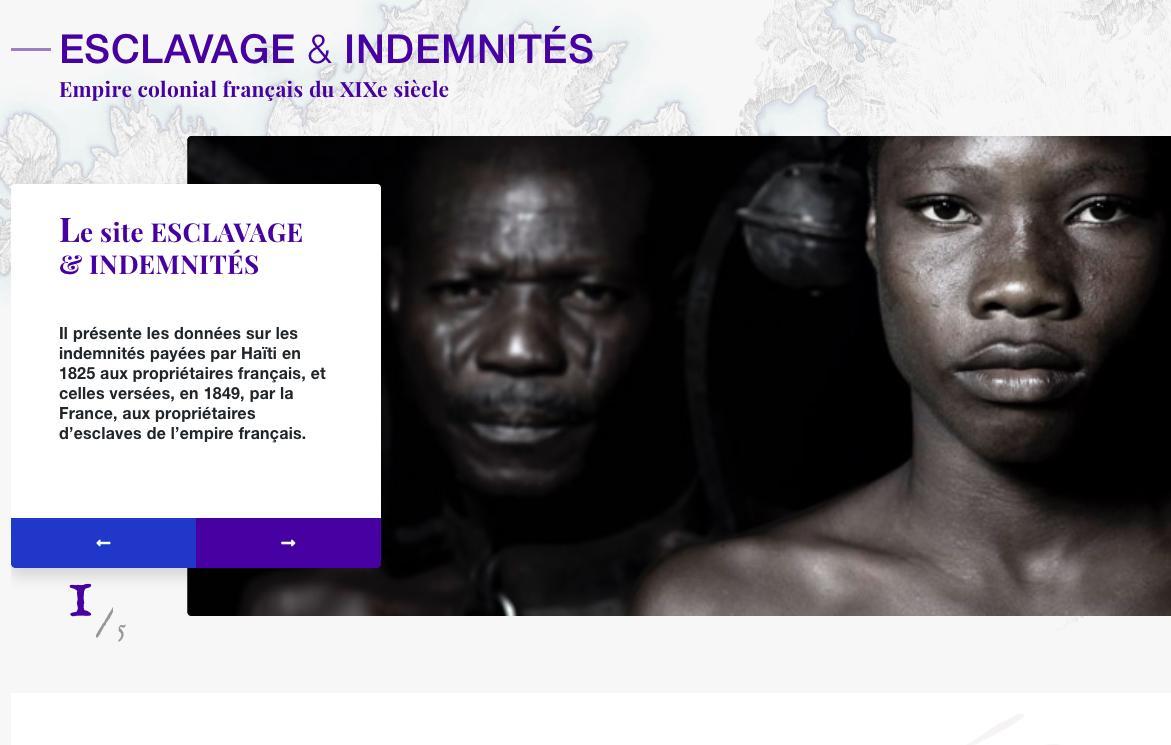 Le CNRS a recensé dans une base de données les indemnités versées aux propriétaires d'esclaves