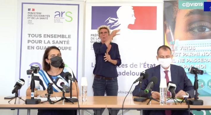 Covid-19 : Les autoritésdéplorent une trop lente décrue en Guadeloupe