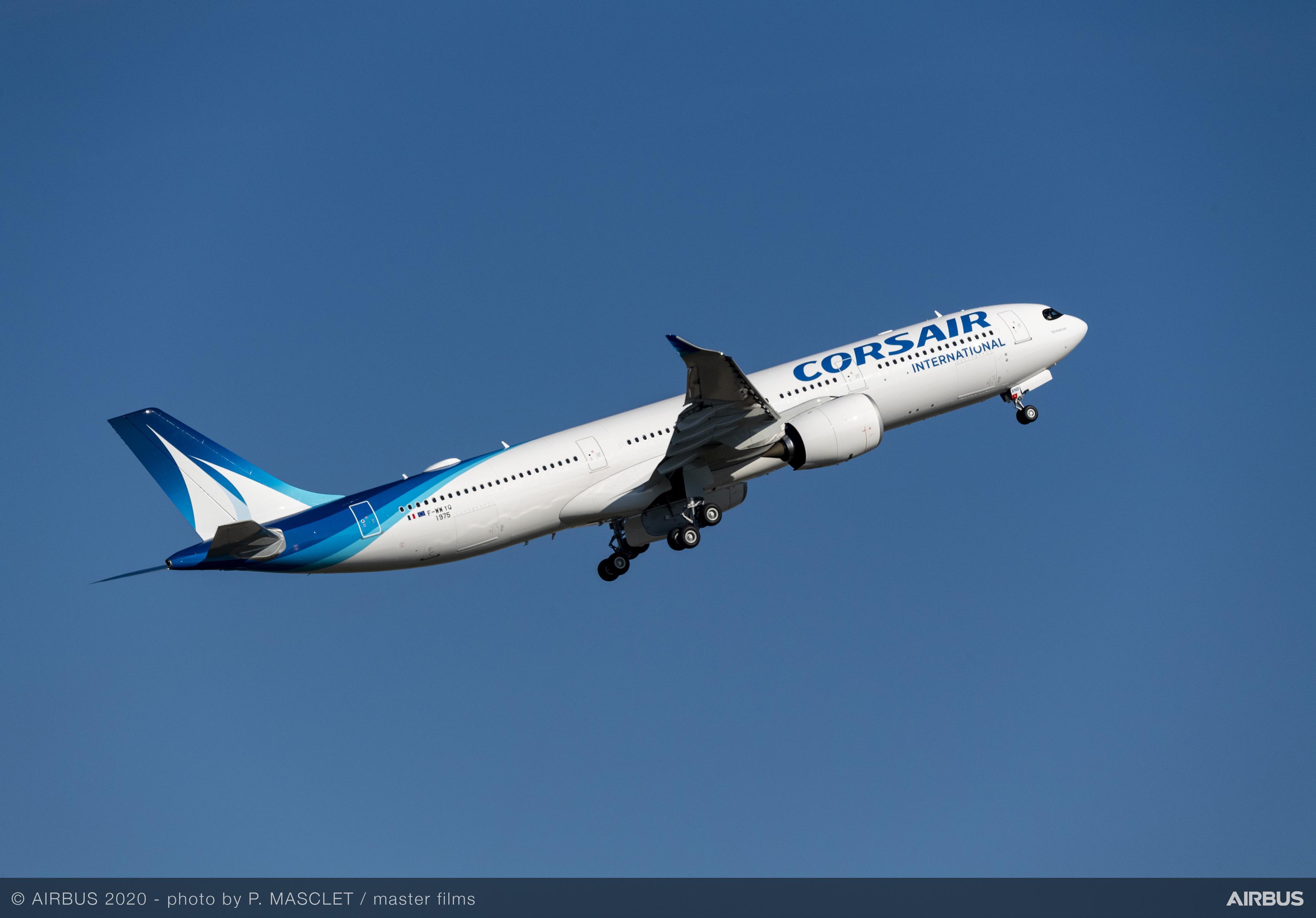 Desserte aérienne : Corsair reliera dès le 20 juin Marseille et Lyon depuis La Réunion et Mayotte sur ses nouveaux appareils A330neo