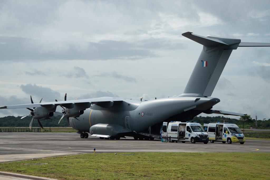 Covid-19 : Les Armées dépêchent des soignants en Guyane