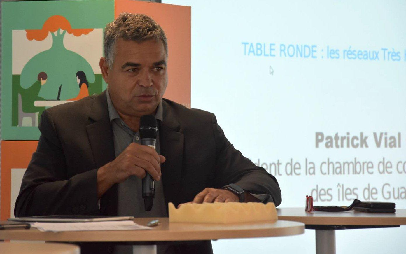 En Guadeloupe, le président de la CCI Patrick Vial-Collet demande un calendrier pour la sortie du confinement