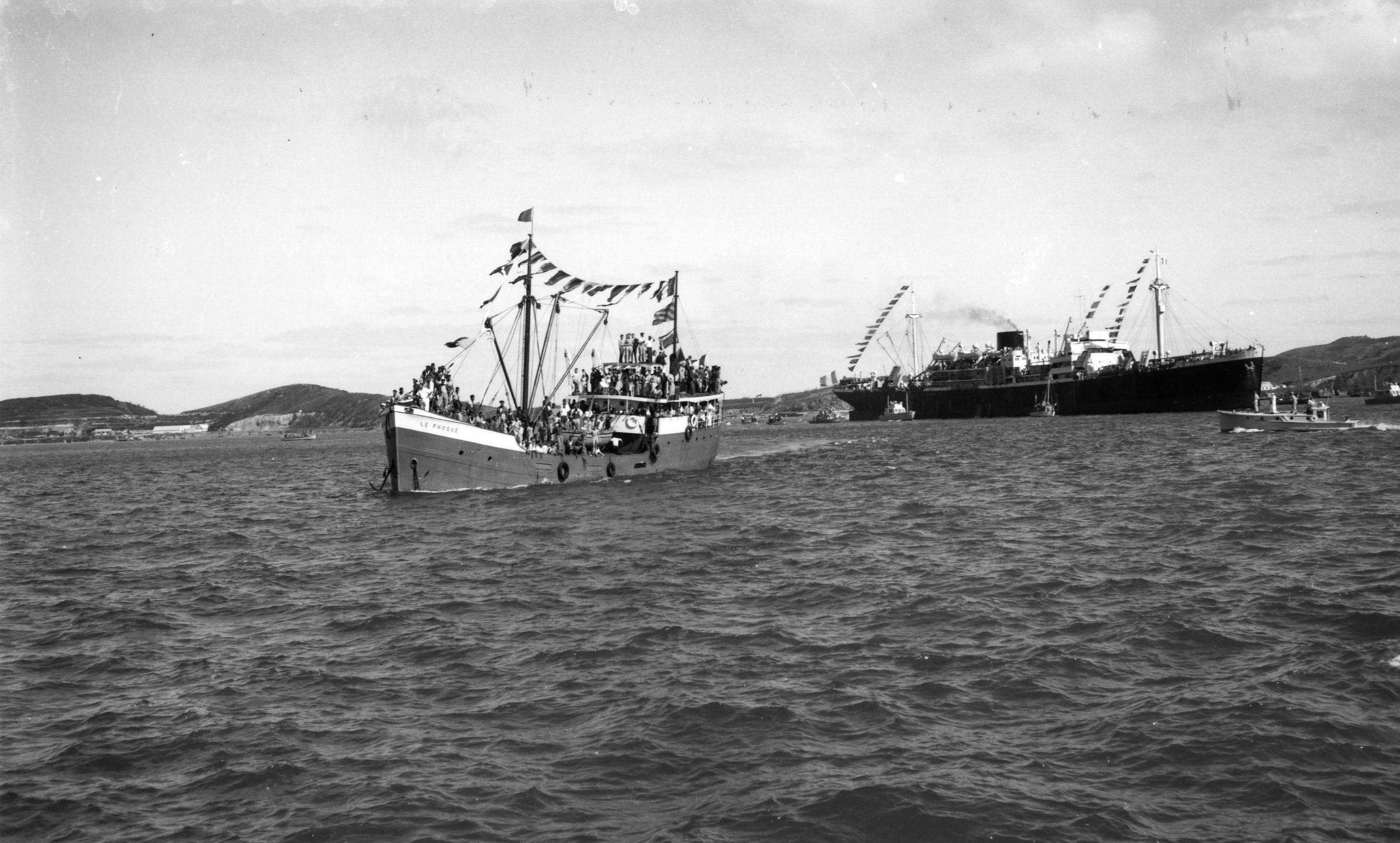 Histoire d'Outre-mer : Il y a 75 ans les survivants calédoniens du Bataillon du Pacifique et des Forces françaises libres rentraient enfin chez eux