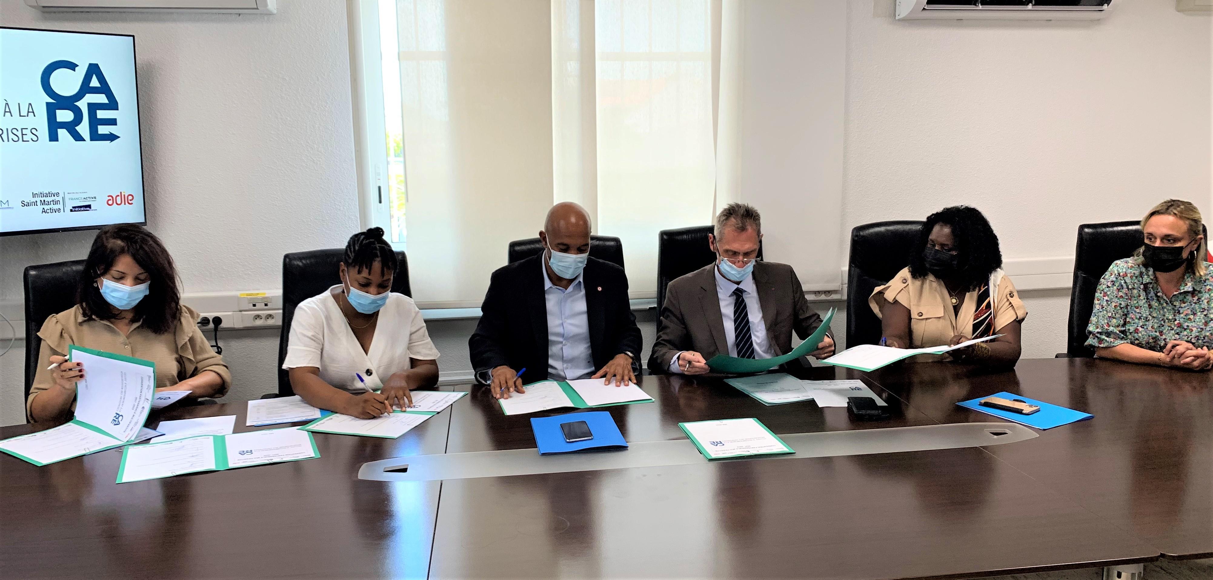 Saint-Martin:Extensionde la celluleCARE, dispositif d'aide aux entreprises