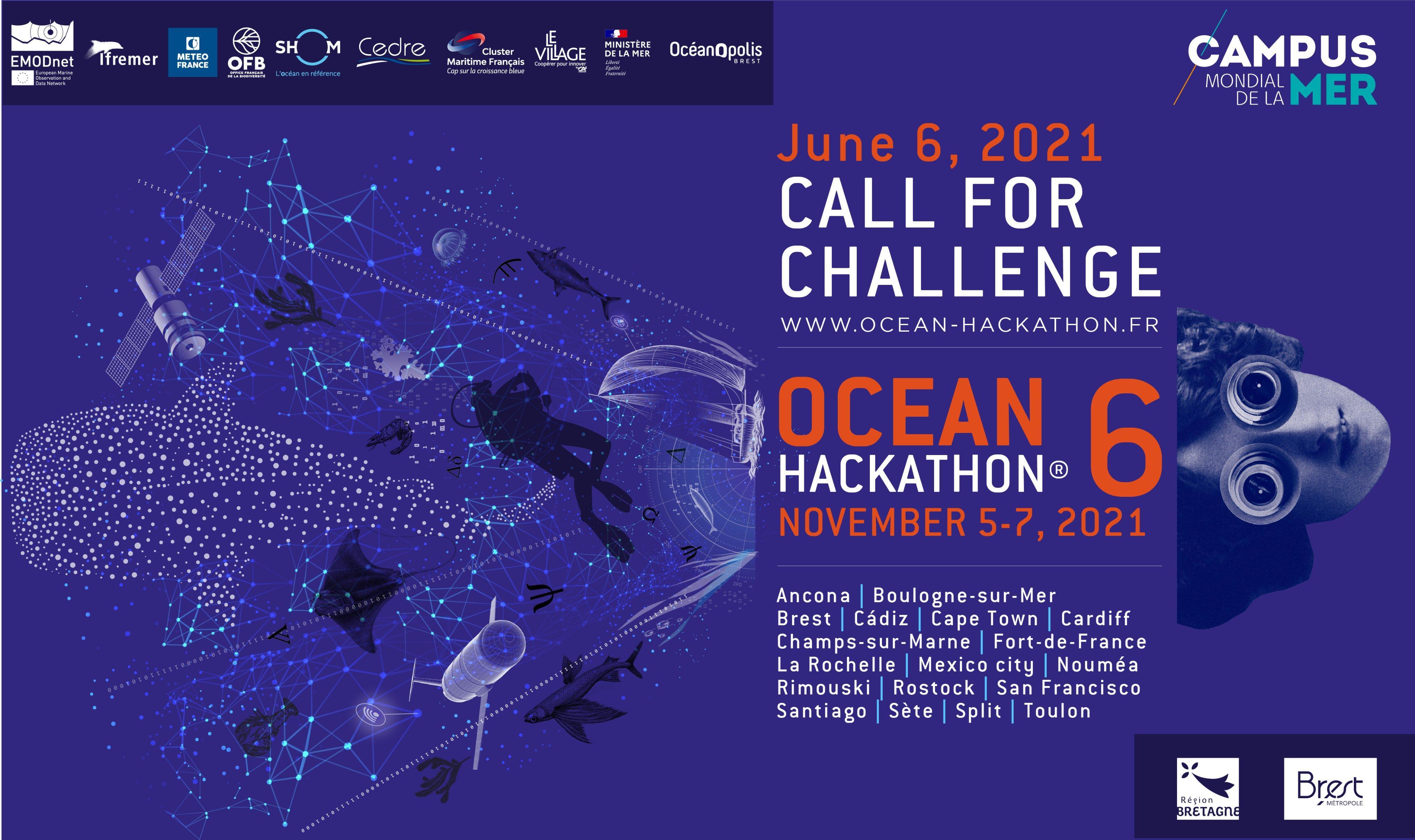 La Martinique sélectionnée pour la première fois à l'événement mondial du Ocean Hackathon 2021