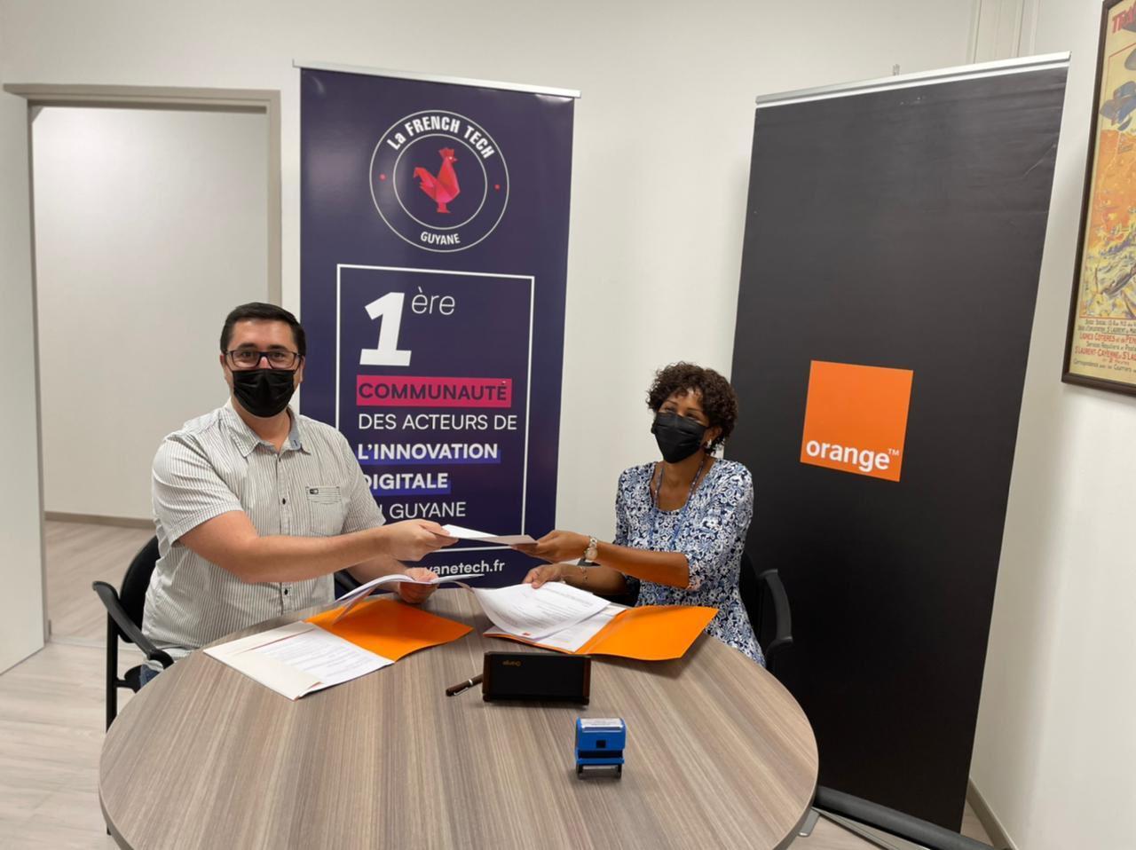 Innovation en Guyane : Orange signe une convention de partenariat avec French Tech Guyane