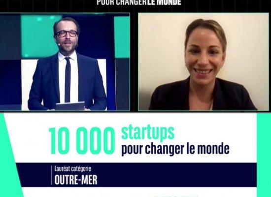 La start-up réunionnaise Torskal lauréate Outre-mer du concours10.000 startups pour changer le monde