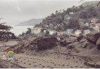 À Saint-Vincent, la Soufrière continue de gronder et cracher ses cendres une semaine après la 1ère éruption