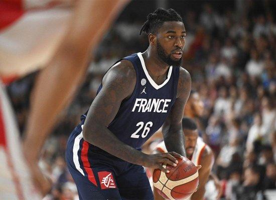 Basket: Le Martiniquais Mathias Lessort rêve d'exploit à Kazan avec Monaco et de Tokyo en Bleu