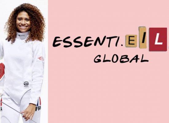 Avec son média EssentiElles, la fleurettiste guadeloupéenne Ysaora Thibus souhaite mettre en valeur les athlètes féminines