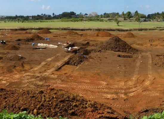 Guadeloupe : 113 sépultures précolombiennes découvertes lors de fouilles préventives