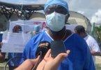 En Guyane, vol et coup de feu en plein direct d'une interview