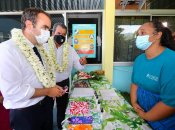 En Polynésie, un objectif de « 75 à 80% » de vaccinés, insiste Sébastien Lecornu