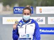 La Calédonienne Lara Grangeon vice championne du 25km aux championnats d'Europe de natation