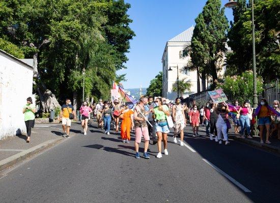 La Réunion : Vif Succès de la première marche des visibilités qui réunit 1500 personnes