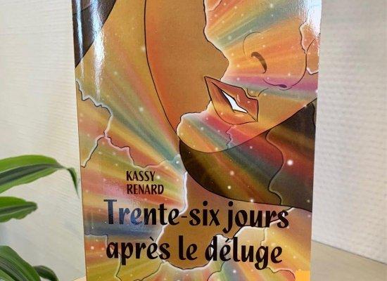 """""""Trente-six jours après le déluge"""" de l'auteure martiniquaise Kassy Renard : Un roman criant de vérité sur la condition de femme"""
