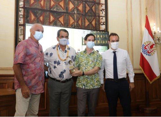 En Polynésie, Sébastien Lecornu couronne les pépites de l'innovation « Tech4Islands »