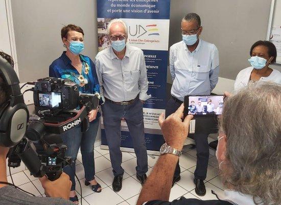 Guadeloupe: Le Medef Guadeloupe en soutien des entreprises pour la vaccination